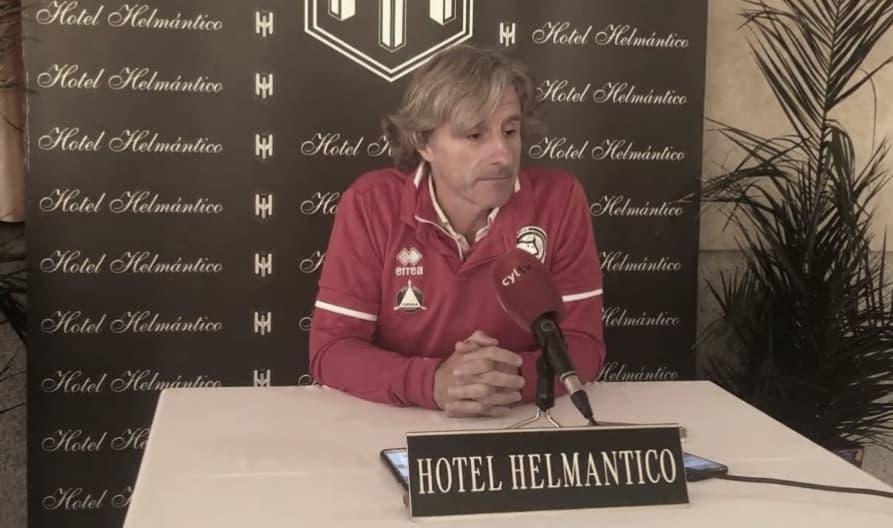 """Roberto Aguirre: """"Llegamos con necesidad por los puntos que llevamos y con muchas ganas por tener una nueva oportunidad para sumar""""."""