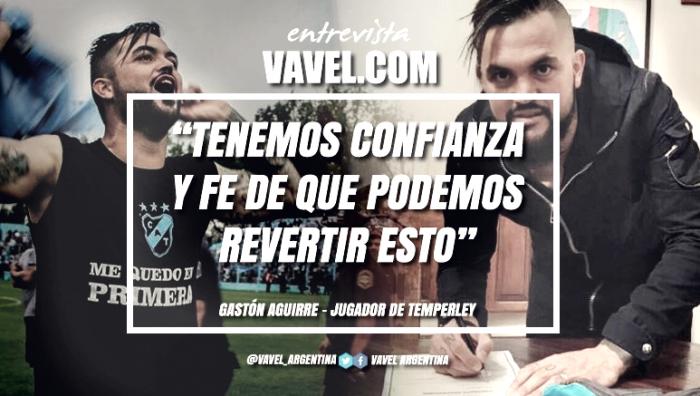 """Entrevista. Gastón Aguirre: """"Si estamos todos unidos y pensamos en positivo no tengo ninguna duda de que nos vamos a salvar"""""""