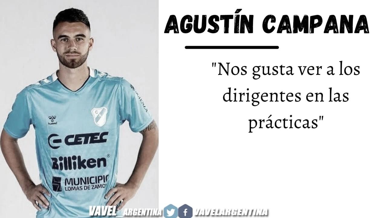 """Agustín Campana: """"Nos falta tomar decisiones"""""""