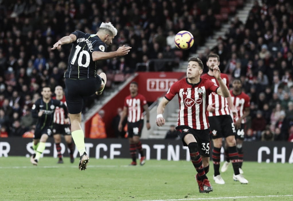 Após duas derrotas, City vence Southampton e volta à segunda posição da Premier League