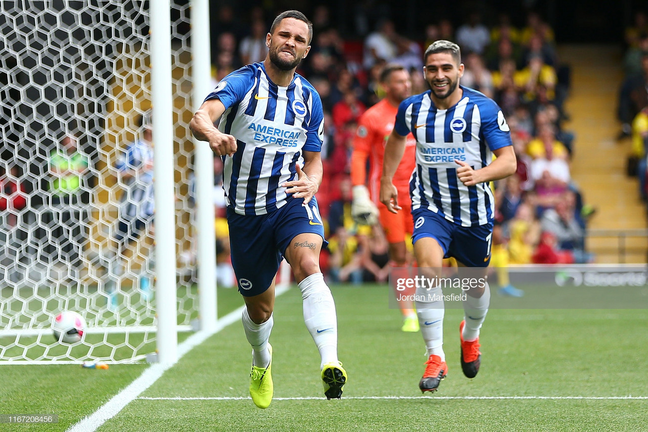 Watford 0-3 Brighton & Hove Albion: Andone and Maupay round off an emphatic victory against lacklustre Hornets