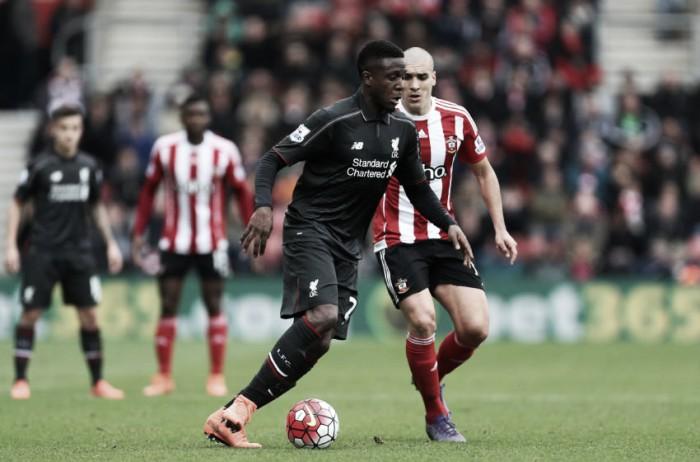 Southampton recebe líder Liverpool tentando se aproximar de zona da Champions