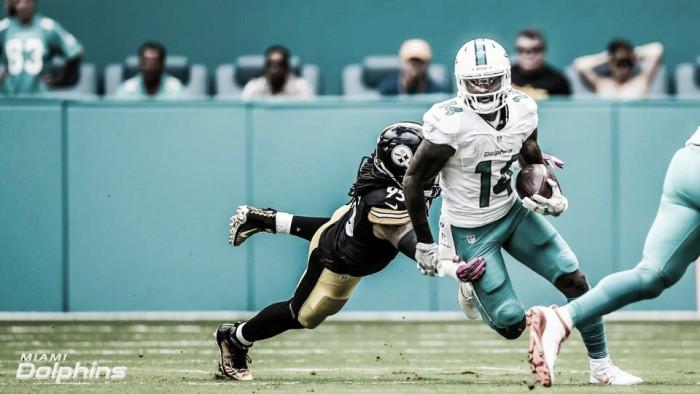 Com grande atuação de Jay Ajayi, Dolphins bate Steelers e se recupera na temporada