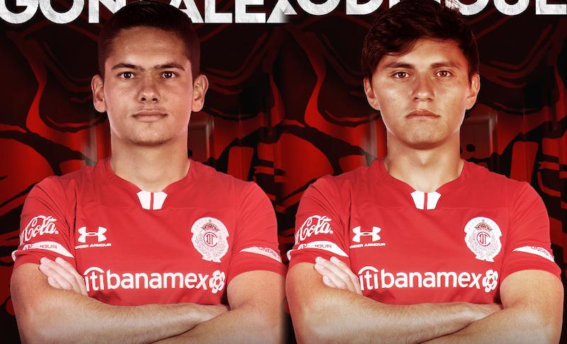 Diego González y Alan Rodríguez regresan a Toluca