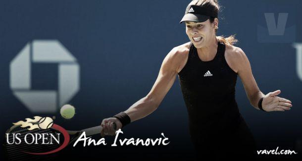 US Open 2015. Ana Ivanovic: en busca del tesoro
