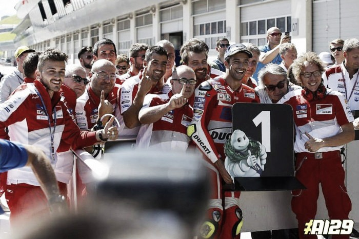 The perfect strategy pays off for Austrian MotoGP winner Iannone