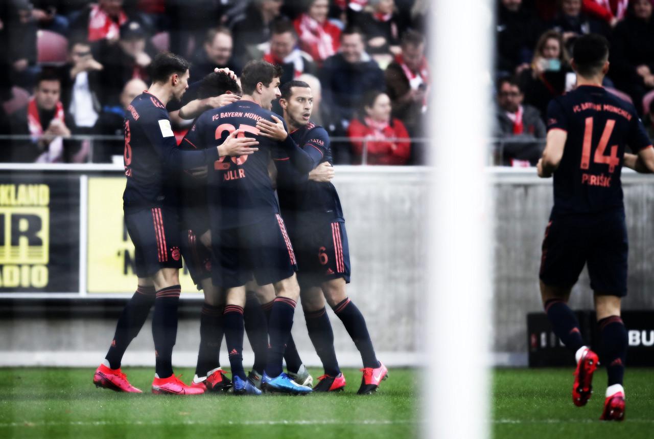 Bayern de Munique vence Mainz e assume liderança provisória da Bundesliga