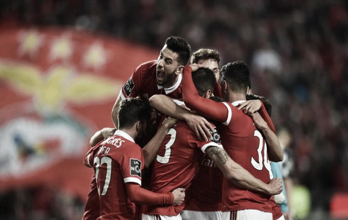 Benfica impõe goleada ao Boavista