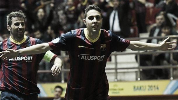 El Barcelona pasa a la Final de la UEFA Futsal Cup por penaltis