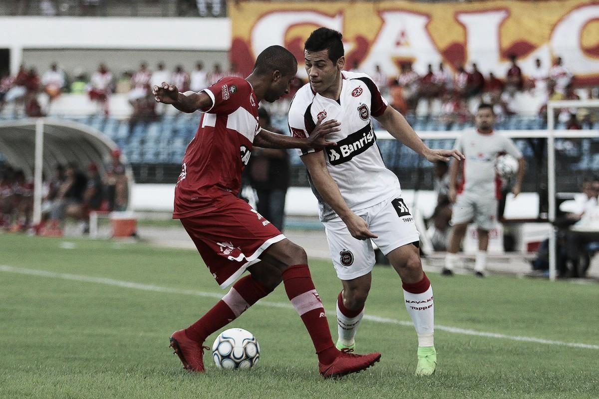 Em jogo fraco, CRB empata com Brasil de Pelotas e segue na zona de rebaixamento
