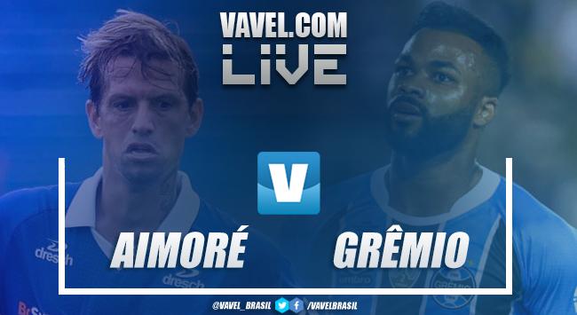 Aimoré x Grêmio AO VIVO hoje no Campeonato Gaúcho (0-0)