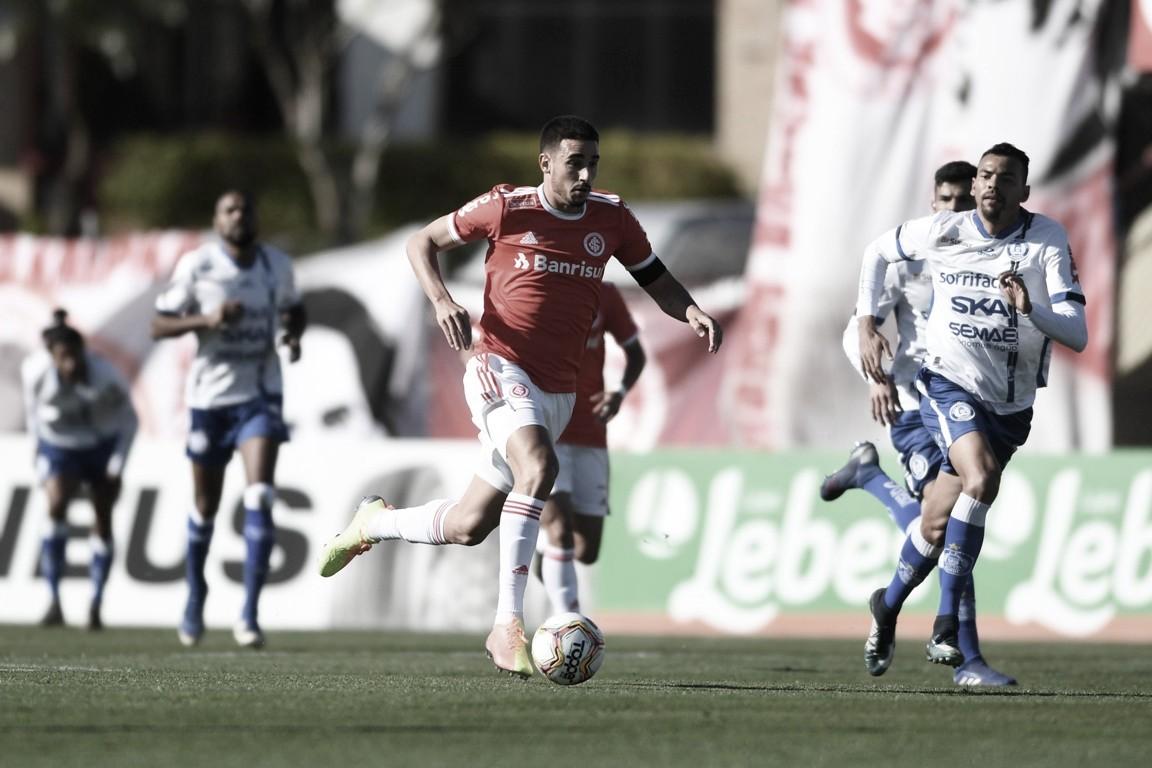 Gols e melhores momentos de Aimoré 1 x 6 Internacional pelo Campeonato Gaúcho 2021