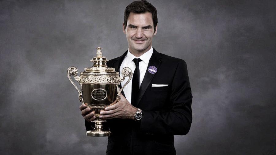 Federer festeja sus 38 años