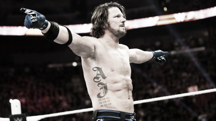 Future plans for AJ Styles with WWE