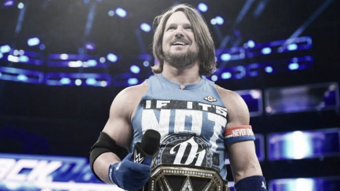 AJ Styles talks about NXT call ups