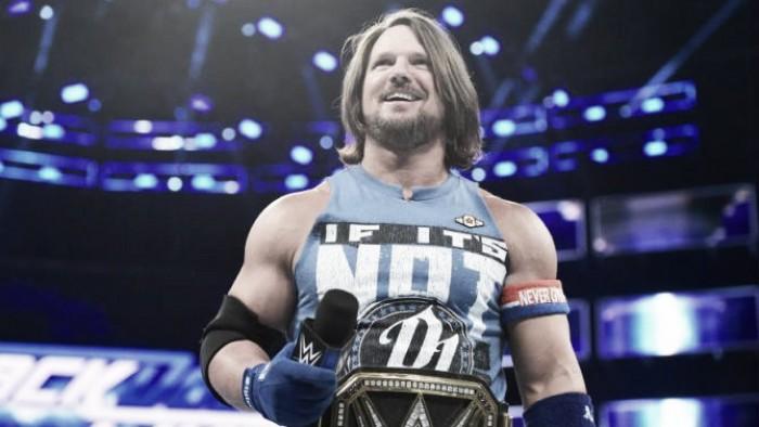 AJ Styles talks about NXT call ups