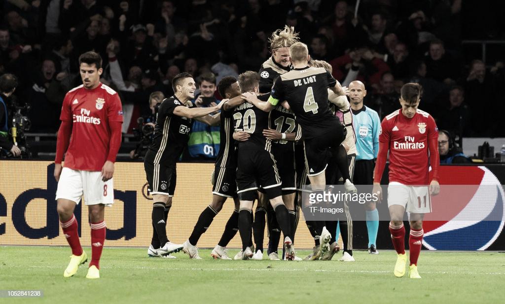 SL Benfica perde na Holanda