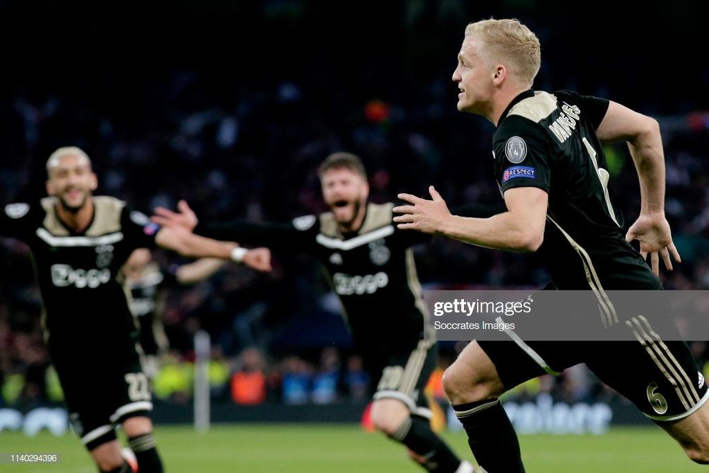 Tottenham Hotspur 0-1 Ajax: Dutch dream continues after early van de Beek strike