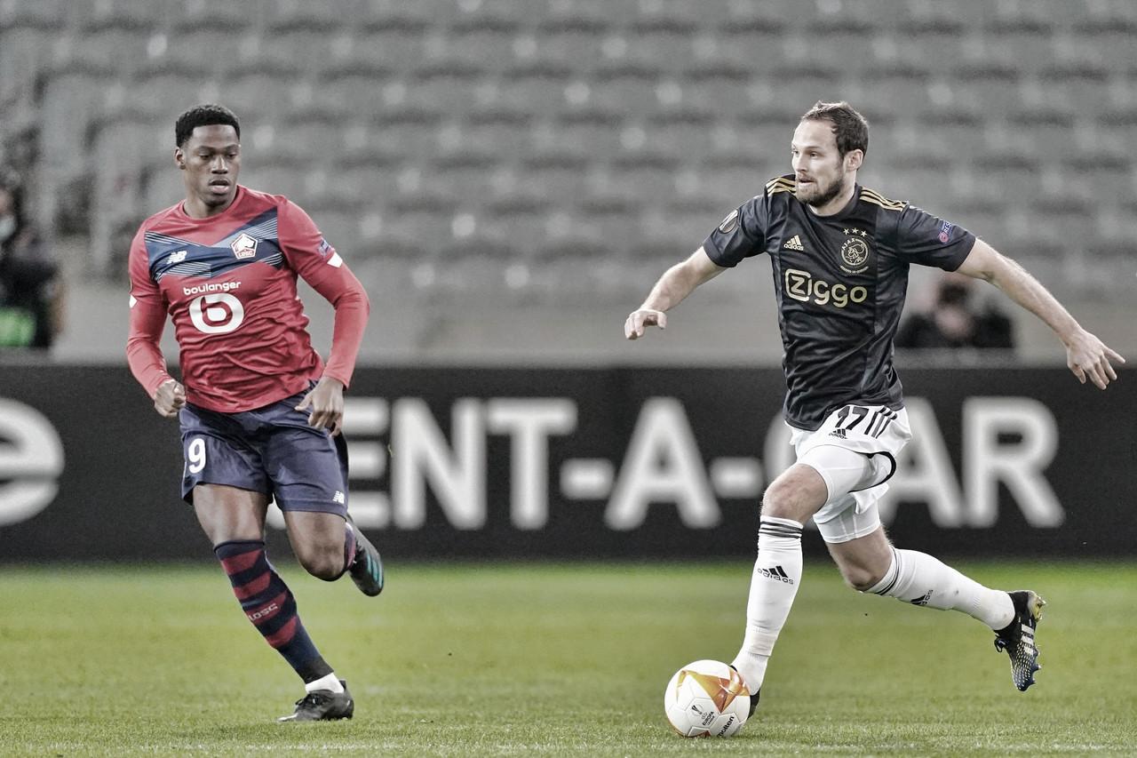 Ajax surpreende e bate Lille de virada no fim