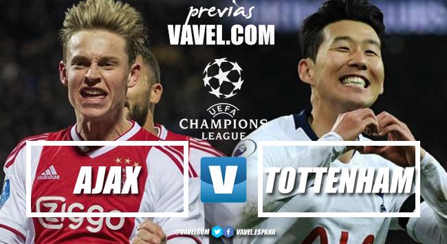 Previa Ajax-Tottenham: duelo para soñadores en Ámsterdam