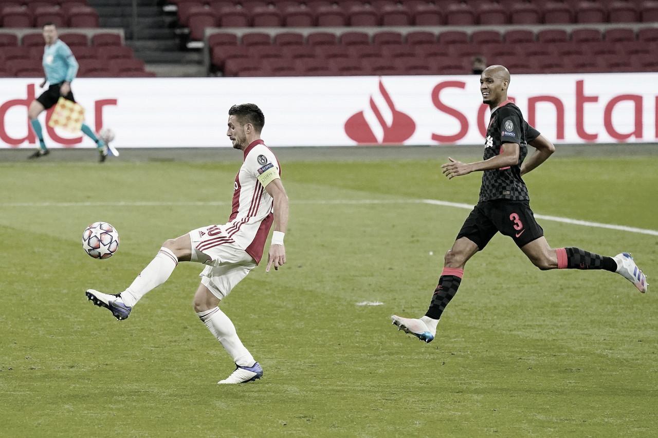 Ajax lo buscó, pero no logró gritar y fue derrotado por Liverpool. Foto: AFC Ajax.