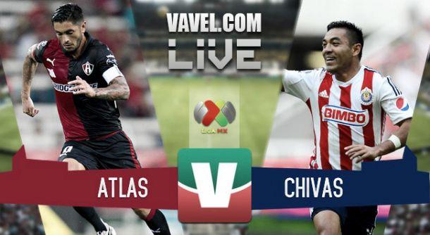 Resultado Atlas - Chivas en Liga MX 2015 (0-1)