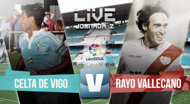 Resultado Celta de Vigo vs Rayo Vallecano en Liga BBVA 2015 (3-0)