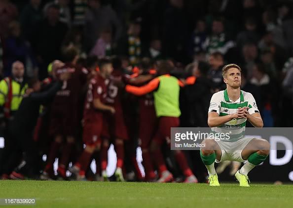 Celtic 3-4 CFR Cluj: Hoops crash out after seven goal thriller