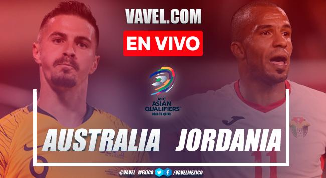 Resumen y gol: Australia 1-0 Jordania en Eliminatorias de AFC 2021