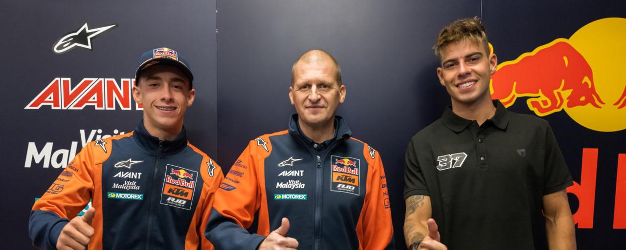 Acosta y Fernández, la combinación perfecta para el KTM Ajo