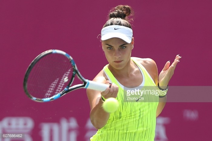 WTA Guangzhou: Ana Konjuh reaches semifinals with win over Jennifer Brady