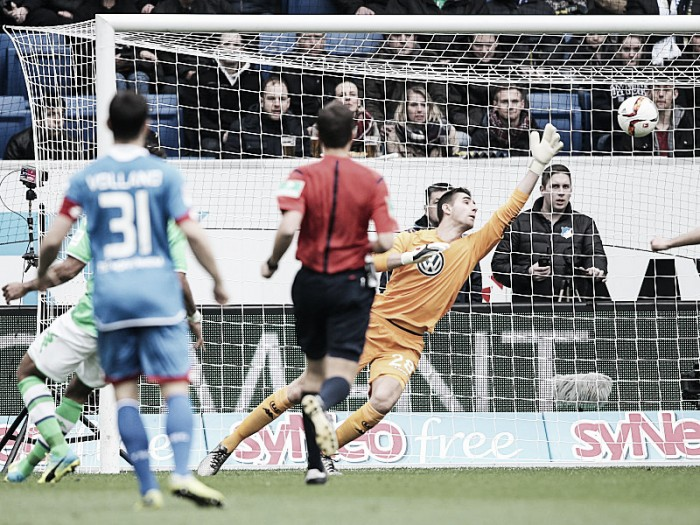 TSG 1899 Hoffenheim 1-0 VfL Wolfsburg: Brilliant Baumann secures vital win for Sinsheim side