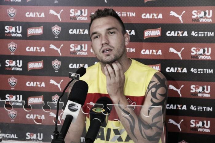 Frustrado com momento do Vitória, Willian Farias quer coletivo acima do individual
