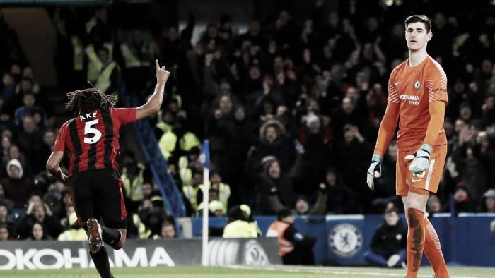 Bournemouth surpreende, vence fora de casa e Chelsea cai na tabela da Premier League