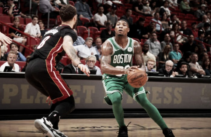 Boston Celtics defeat Miami Heat 96-90, win their second straight