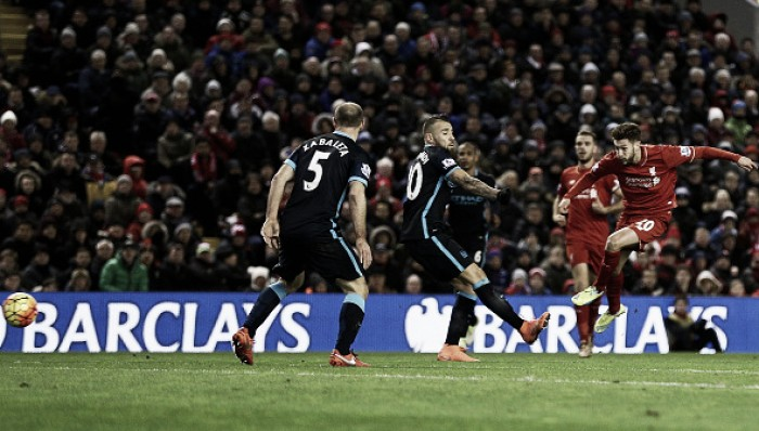 Liverpool 3-0 Manchester City: Same old Citizens falter again away from home