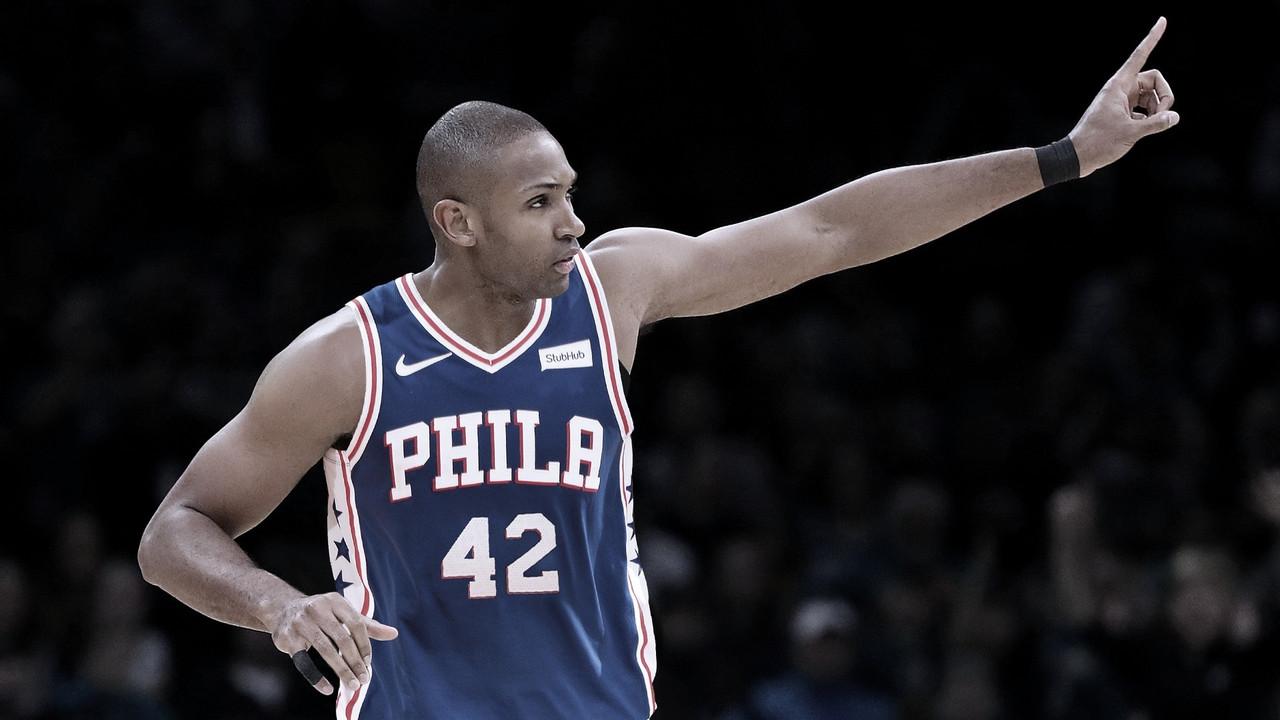Al Horford en los Sixers. // Foto: NBA.COM