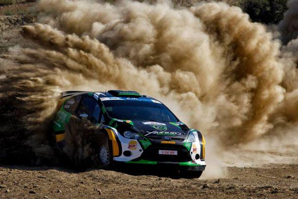Al-Rajhi triunfa en el calor y el polvo del Rally de Chipre