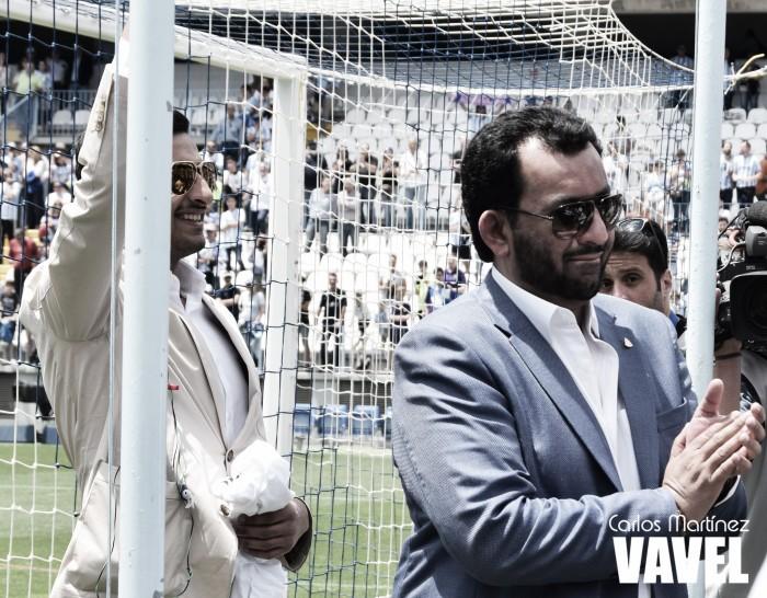 """Sheikh Al Thani: """"Camacho es hoy día 100% propiedad del Málaga Club de Fútbol"""""""