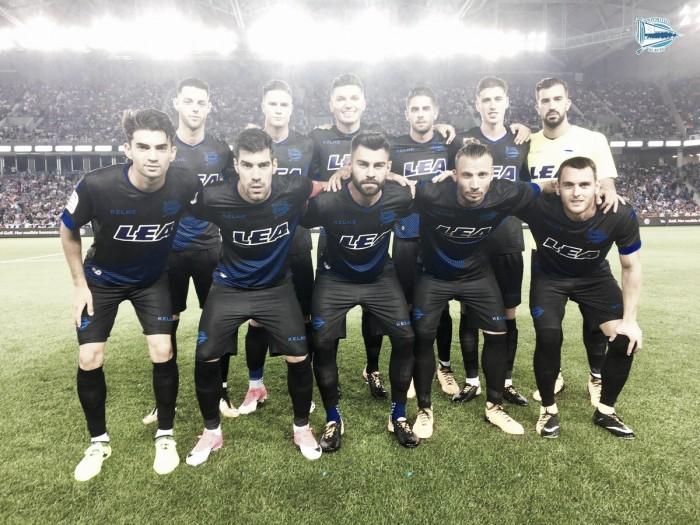 El Alavés pierde su primer partido de pretemporada ante el Trabzonspor