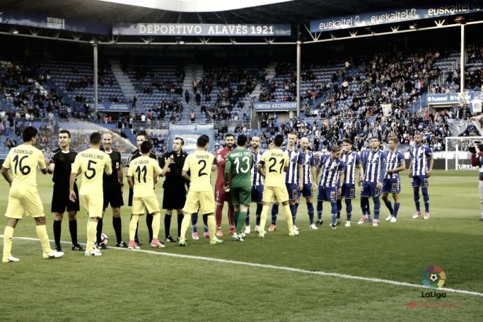 Deportivo Alavés - Villarreal CF: puntuaciones del Alavés, 32ª jornada de La Liga