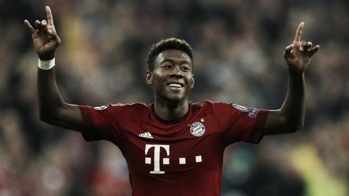 David Alaba extends contract at Bayern