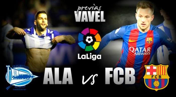 Com retornos de Busquets e Iniesta, Barcelona busca liderança contra Alavés