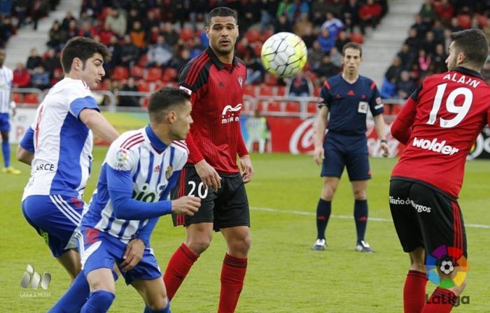 Un gol de Alain engancha al Mirandés
