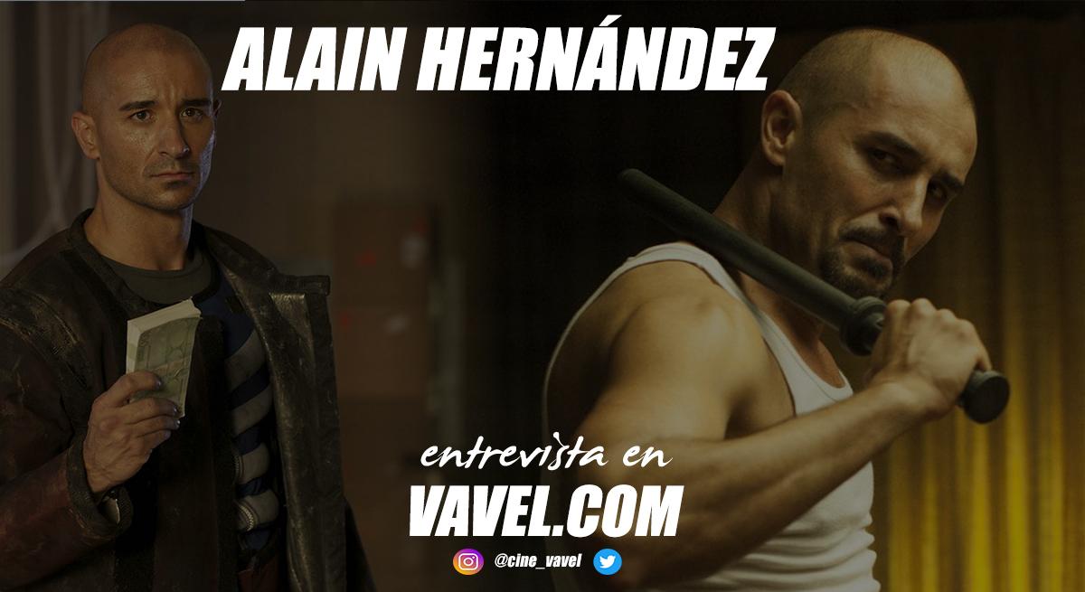 """Entrevista. Alain Hernández: """"Todos los personajes que he hecho tienen una parte de mi"""""""