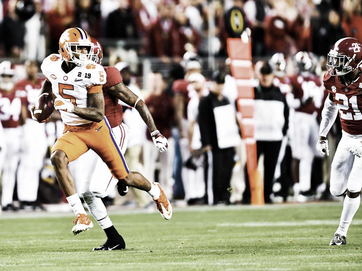 Clemson aplasta a Alabama en el Campeonato Nacional