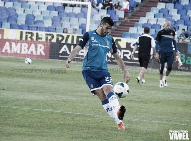 Javi Álamo renueva con el Real Zaragoza hasta 2017
