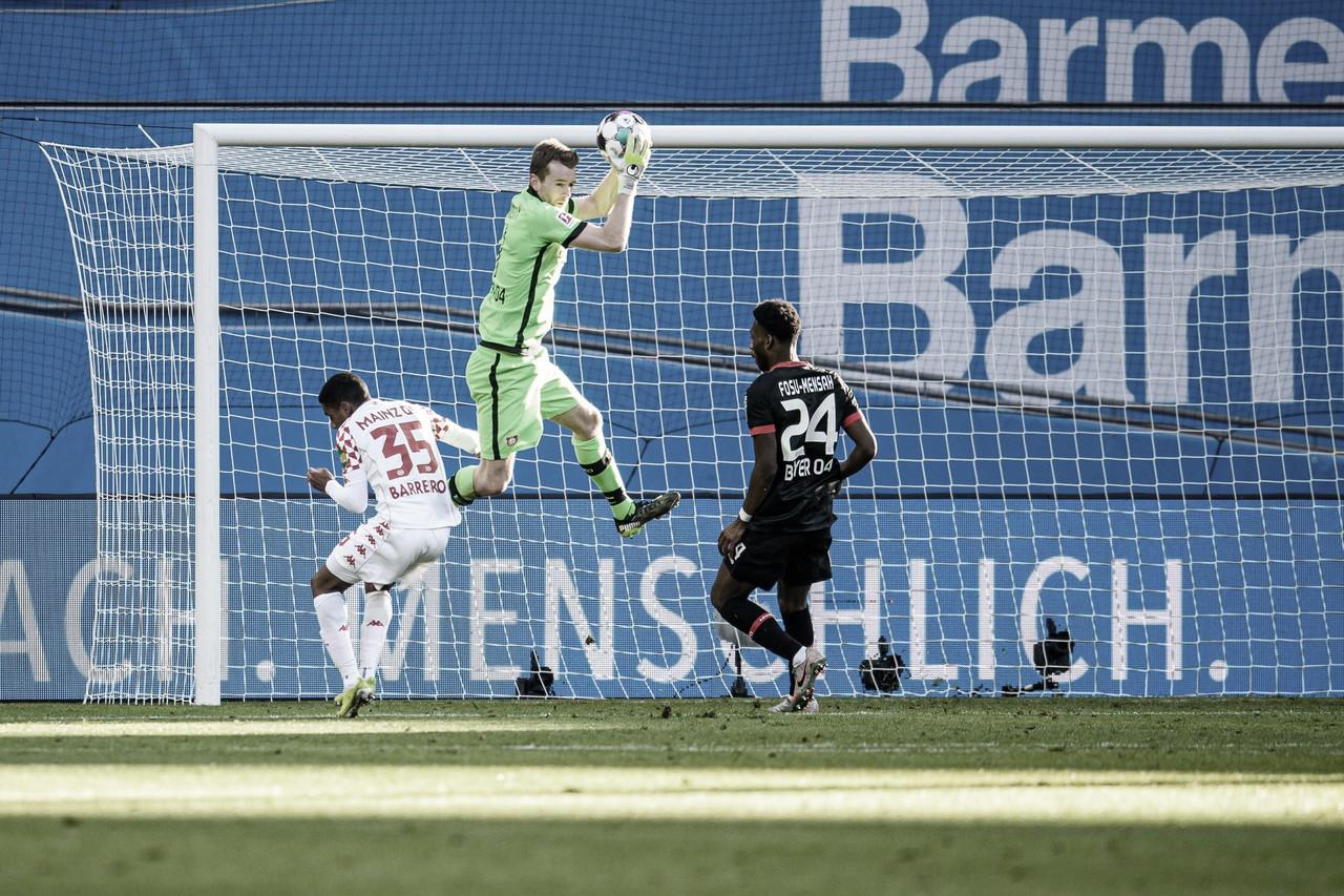 Em fim de jogo maluco, Mainz consegue arrancar empate com Leverkusen