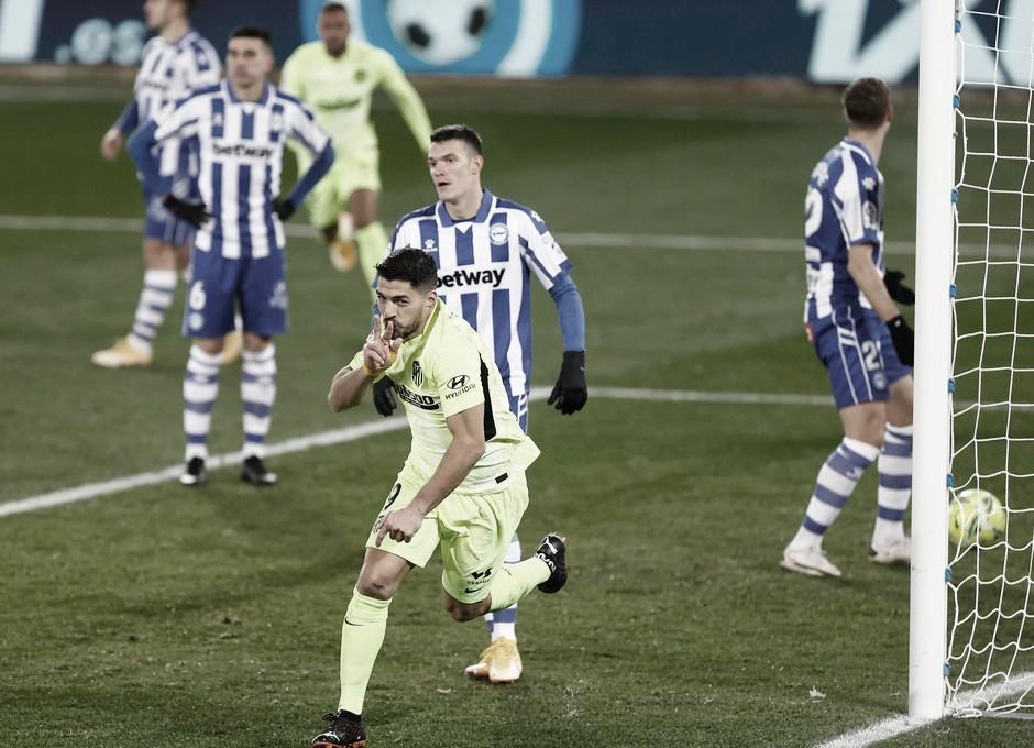 No sufoco, Atlético de Madrid vence Alavés e segue líder isolado de LaLiga