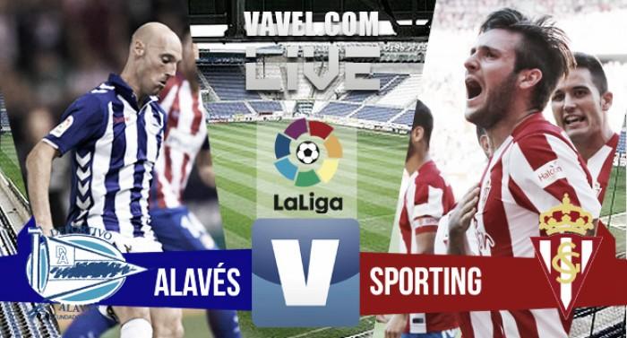Resultado Deportivo Alavés vs Sporting de Gijón en vivo online en La Liga 2016